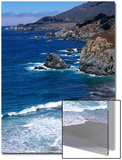 The Pacific Coast at Big Sur  California
