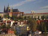 Prague Castle and Lesser Town Area  Prague  Czech Republic