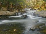 Bog Road Falls  Lamoille River  Vermont