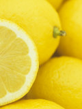 Sliced Lemon (Citrus Limon)  Eureka Variety