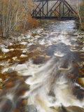 Trestle over the Saco River White Mountains  New Hampshire