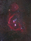The Constellation of Orion or the Hunter and its Nebulosity