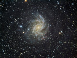 Ngc 6946 Spiral Galaxy in Cepheus