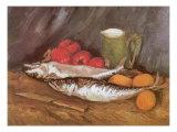 Still Life with Mackerel  1886