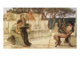 Sappho and Alcaeus  1880