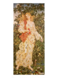 Flora  the Goddess of Blossoms  1880