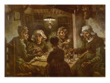 The Potato Eaters  1885