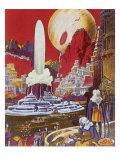 Futuristic City  1941