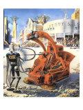 Sci Fi - Futuristic Robots  1953