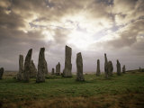 Stone Circle from Between 3000 and 1500Bc  Callanish  Isle of Lewis  Outer Hebrides  Scotland