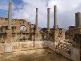 Hadrianic Baths  Roman Site of Leptis Magna  UNESCO World Heritage Site  Libya