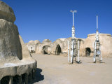 Star Wars Set  Near Nefta  Tunisia  North Africa  Africa