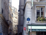 Typical Street in the 5th Arrondisement  Paris  France  Europe
