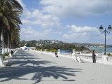 Seaside Promenade  La Marsa Resort  Near Tunis  Tunisia  North Africa  Africa