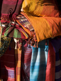 Fabrics  Essaouira  Morocco  North Africa  Africa
