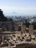 Byrsa Hill  the Original Punic Site at Carthage  UNESCO World Heritage Site  Near Tunis  Tunisia