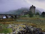Eilean Donan Castle  Standing Where Three Lochs Join  Dornie  Highland Region  Scotland  UK