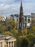 Walter Scott Memorial  Edinburgh  Scotland  United Kingdom  Europe