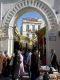 Gateway to the Medina  Tangiers  Morocco  North Africa  Africa