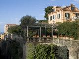 Seaside Town of Sorrento  Near Naples  Campania  Italy  Mediterranean  Europe