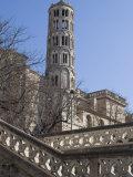 Fenestrelle Tower  Uzes  Languedoc  France  Europe