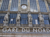 Gare Du Nord Railway Station  and Eurostar Terminal  Paris  France  Europe