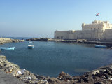 Fort and Harbour  Alexandria  Egypt  North Africa  Africa
