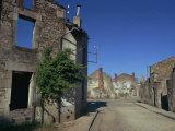 Oradour-Sur-Glane  Limousin  France