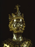 Charlemagne  Dating from around 1350  Aachen  Germany  Europe