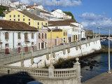 Bay Promenade  Angra Do Heroismo  Terceira  Azores  Portugal  Atlantic  Europe