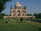 Moghul Tomb Dating from the 18th Century  Delhi  India