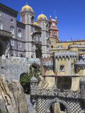 Pena National Palace  Sintra  UNESCO World Heritage Site  Portugal  Europe