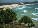 Indian Head Beach  Fraser Island  UNESCO World Heritage Site  Queensland  Australia  Pacific