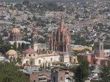 View of San Miguel De Allende from Mirador Viewpoint  Guanajuato State  Mexico