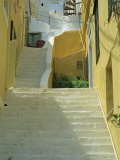 Staircases Between Houses  Yialos  Symi  Dodecanese Islands  Greek Islands  Greece  Europe