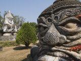 Buddha Park  Xieng Khuan  Vientiane  Laos  Indochina  Southeast Asia