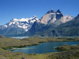 Lake Nordenskjold in the Torres Del Paine National Park in Chile  South America