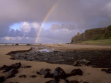 Mussenden Temple Folly and Downhill Strand  County Londonderry  Ulster  Northern Ireland