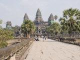Angkor Wat Temple  Angkor  Siem Reap  Cambodia  Indochina  Southeast Asia