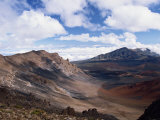 Haleakala Crater on the Island of Maui  Hawaii  United States of America  North America