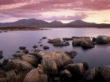 Loch Druidibeg Nature Reserve at Sunset  South Uist  Outer Hebrides  Scotland  UK