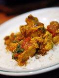 Chicken Curry Balti Dish at Al Frash Restaurant in the Balti Triangle Birmingham  England  UK