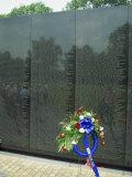 Vietnam War Memorial  Washington DC  United States of America  North America