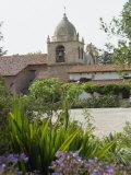 Old Spanish Mission  Carmel  California  United States of America  North America