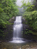 Waterfall at Mount Emei Shan  UNESCO World Heritage Site  Sichuan Province  China