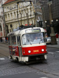 Tram  Prague  Czech Republic  Europe