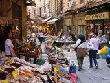 Vucciria Market  Palermo  Sicily  Italy  Europe