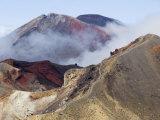 Mount Ngauruhoe  Taupo Volcanic Zone  North Island  New Zealand