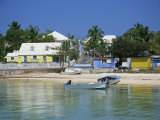 Waterfront and Beach  Dunmore Town  Harbour Island  Bahamas  West Indies  Central America
