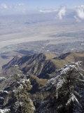 Palm Springs from the Top of San Jacinto Peak  Palm Springs  California  USA